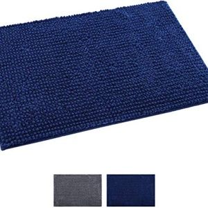 "Softlife Bathroom Rugs Chenille Bath Mat 24"" x 35"""
